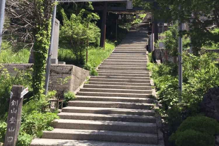 剣山入り口の画像
